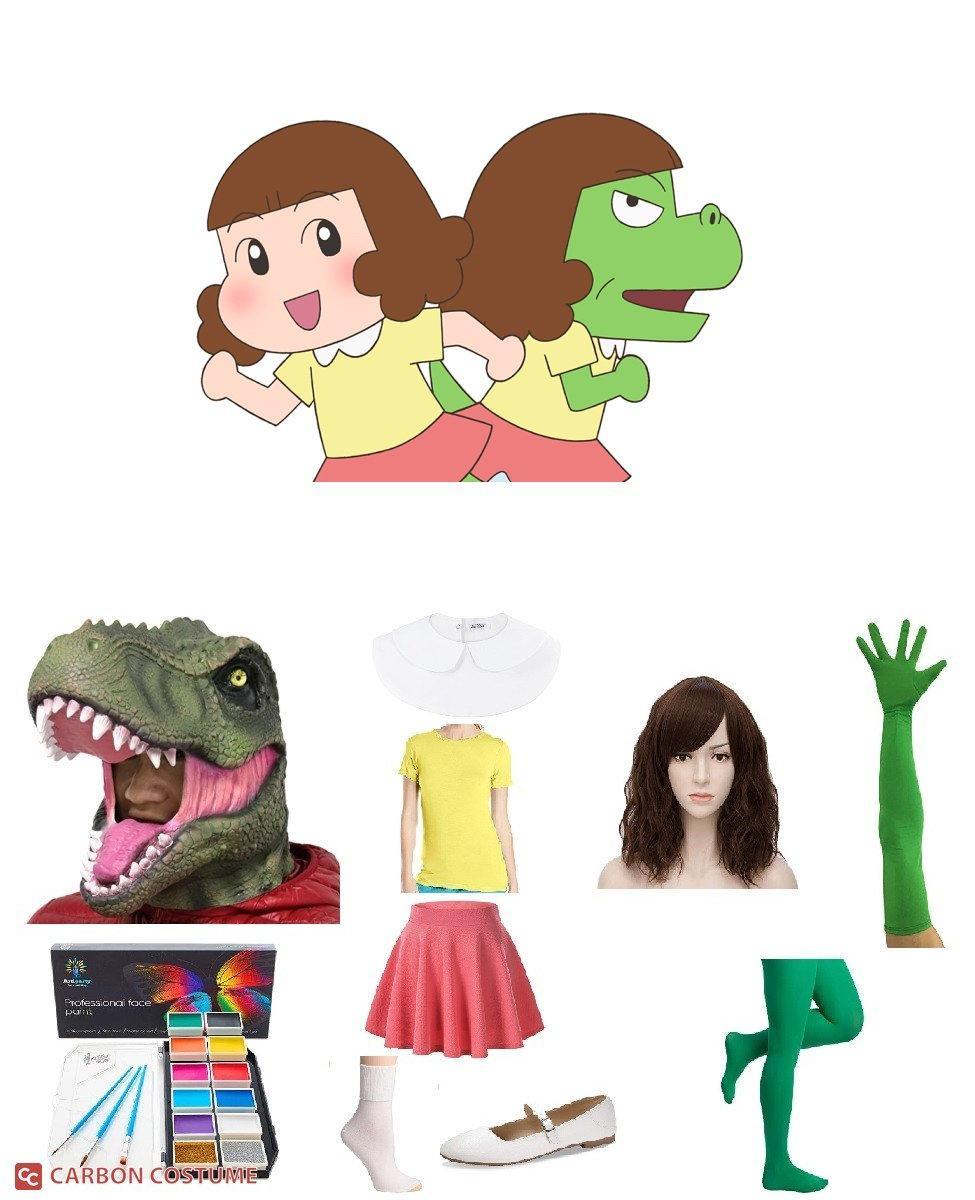 Gauko from Dino Girl Gauko Cosplay Guide