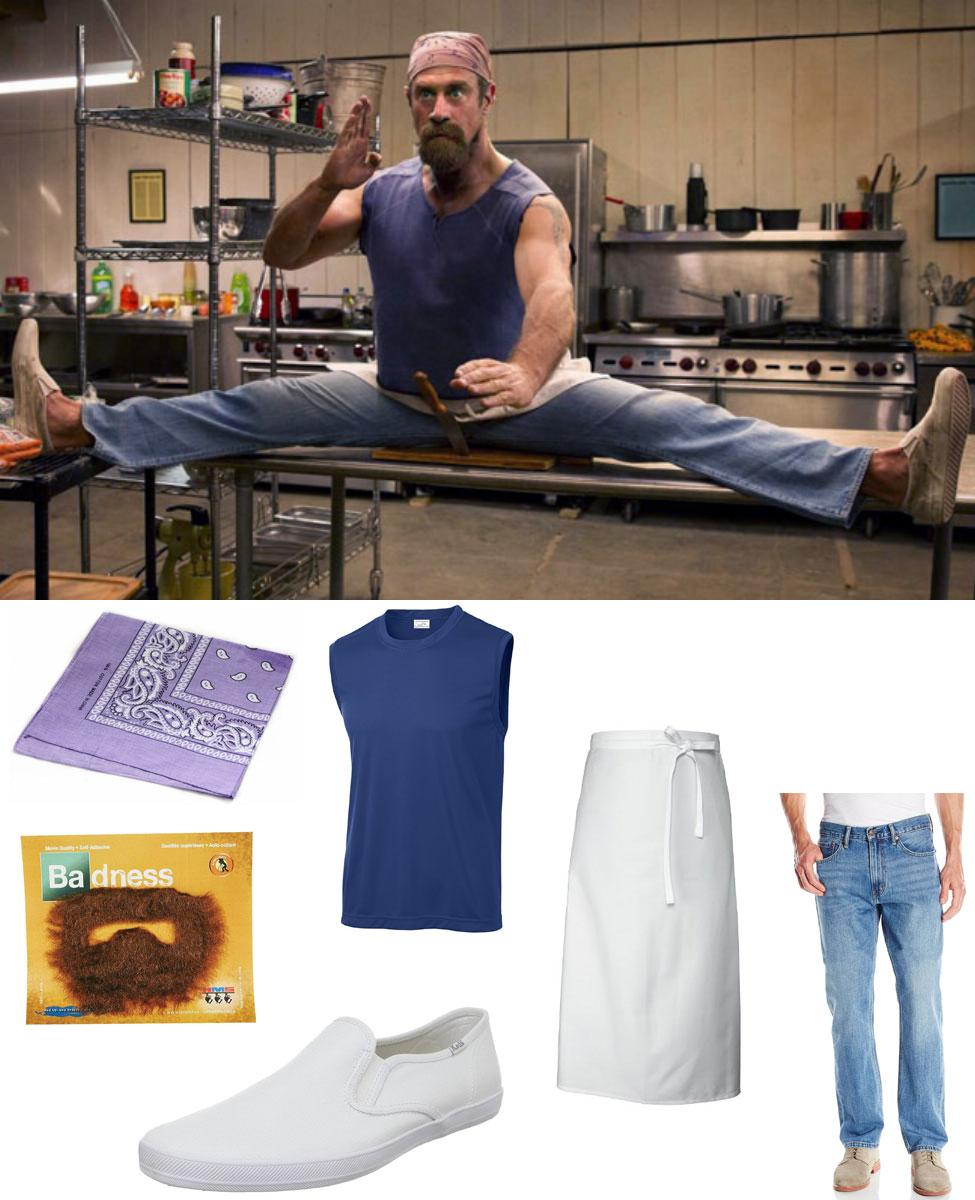 Gene from Wet Hot American Summer Cosplay Guide