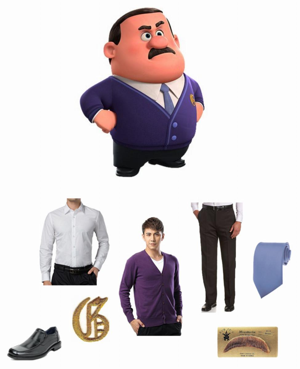 Gene in Wreck-It Ralph Cosplay Guide