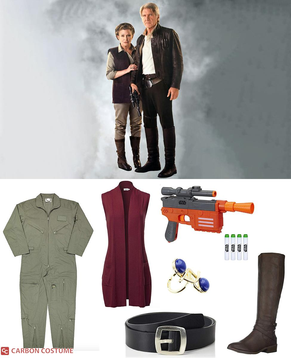 General Leia Organa from The Force Awakens Cosplay Guide