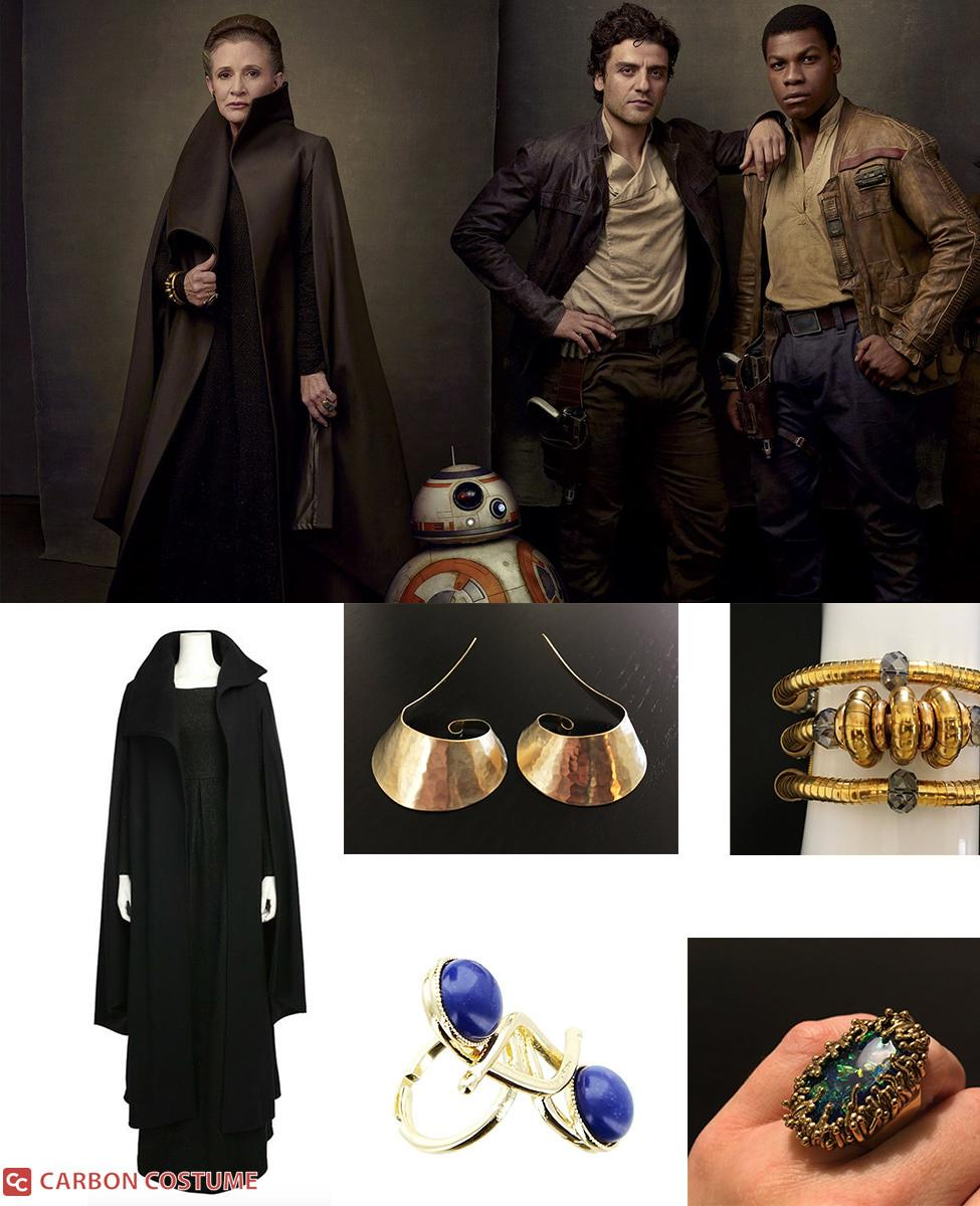 General Leia Organa from The Last Jedi Cosplay Guide
