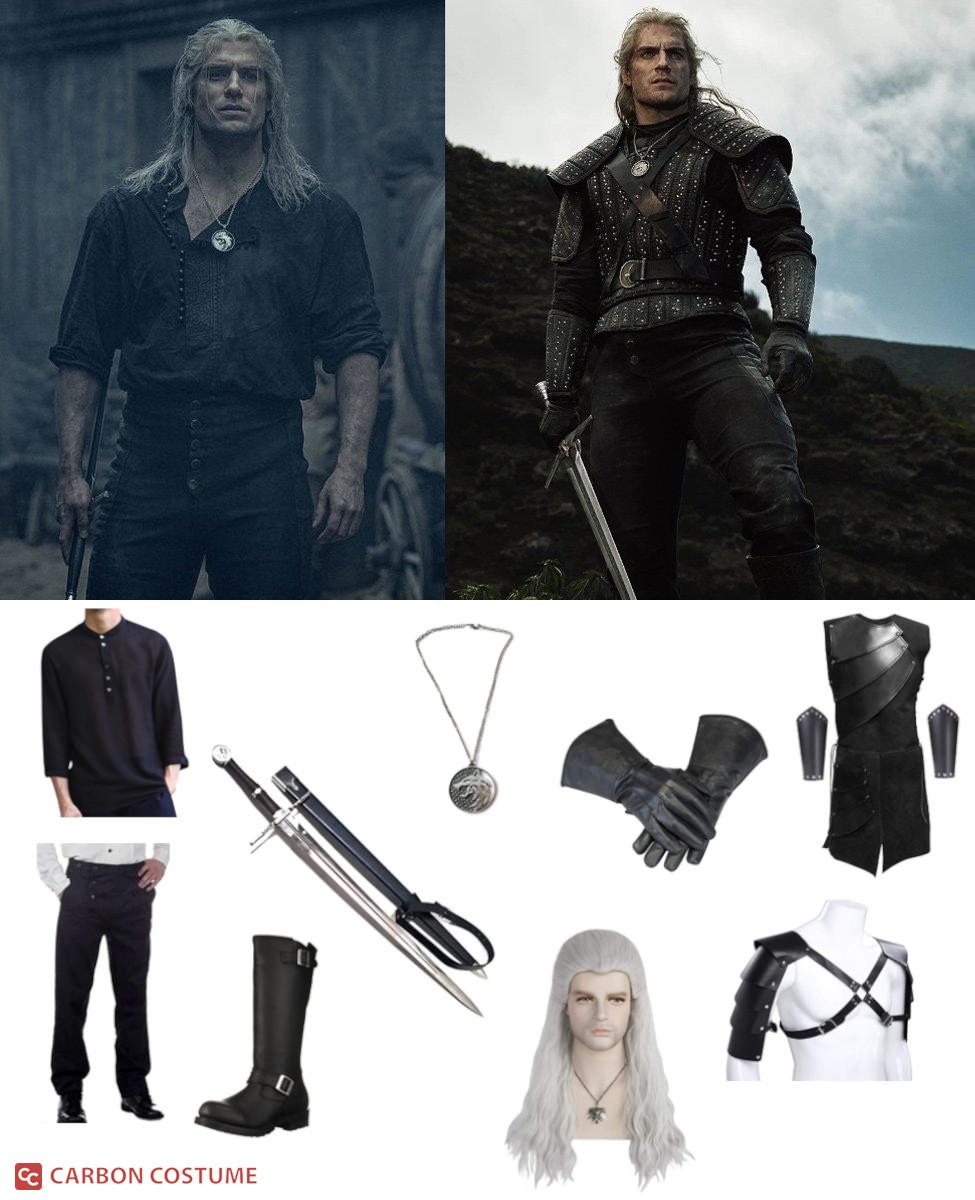 Geralt from Netflix's The Witcher Cosplay Guide