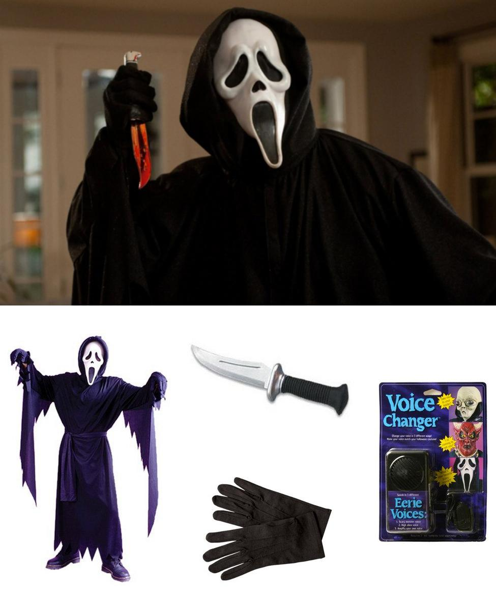Ghostface from Scream Cosplay Guide
