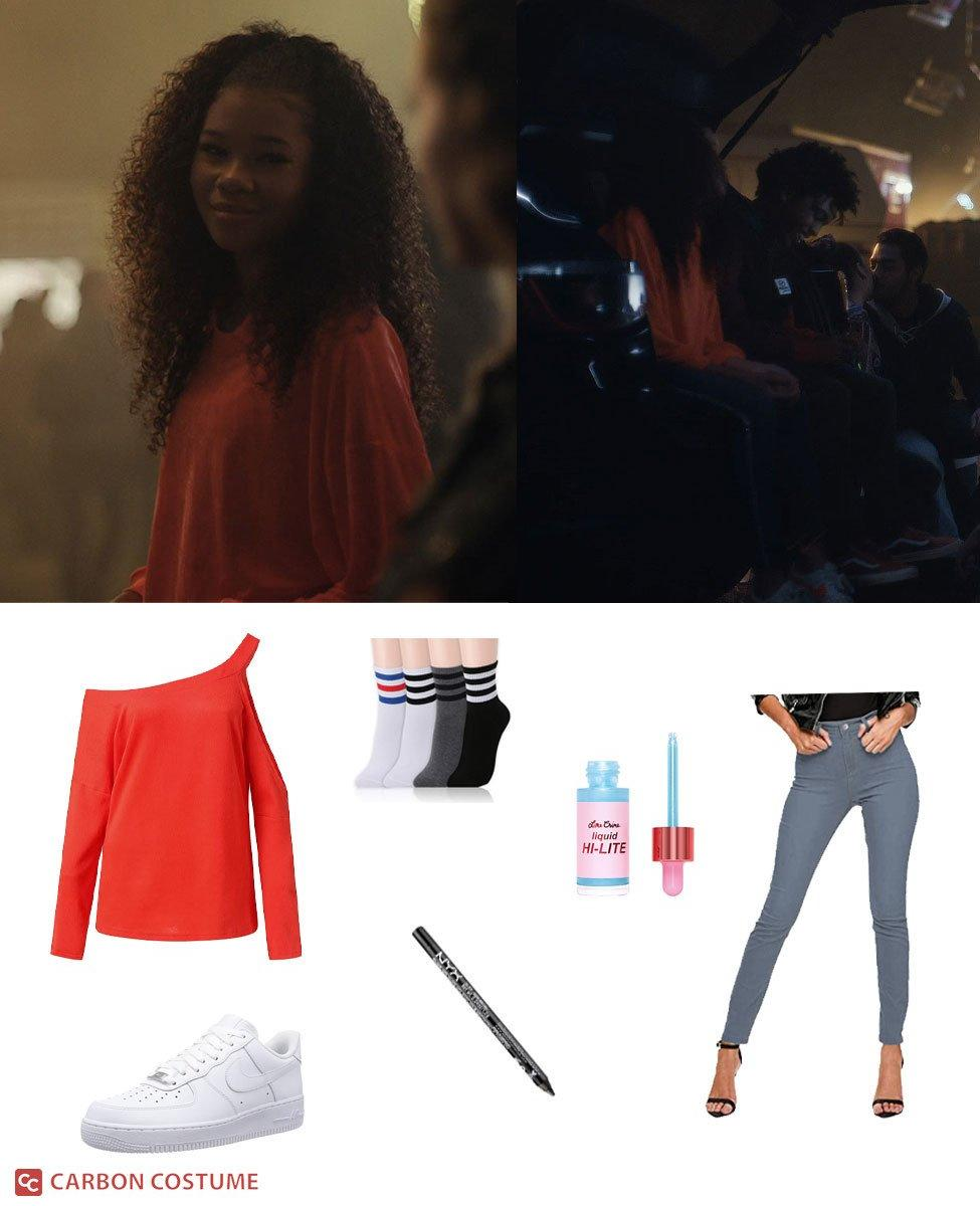 Gia Bennett from Euphoria Cosplay Guide