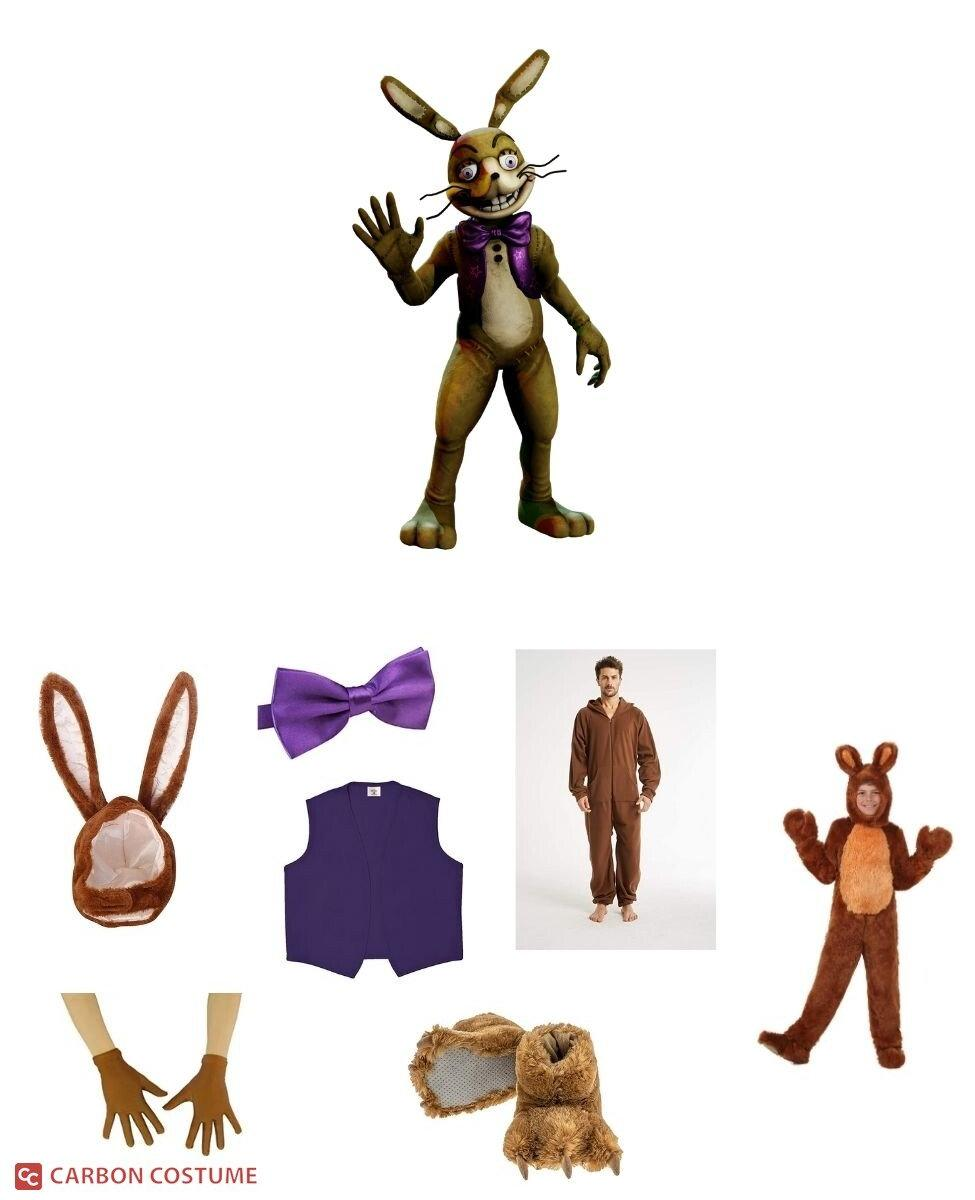 Glitchtrap from Five Nights at Freddy's Cosplay Guide
