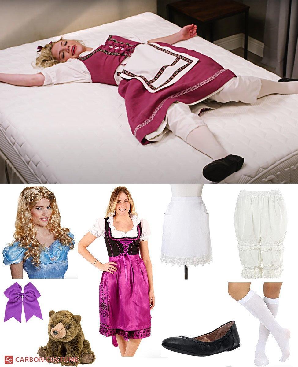 Goldilocks from Purple Mattress Cosplay Guide