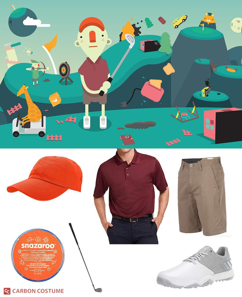 Golfer from What the Golf? Cosplay Guide