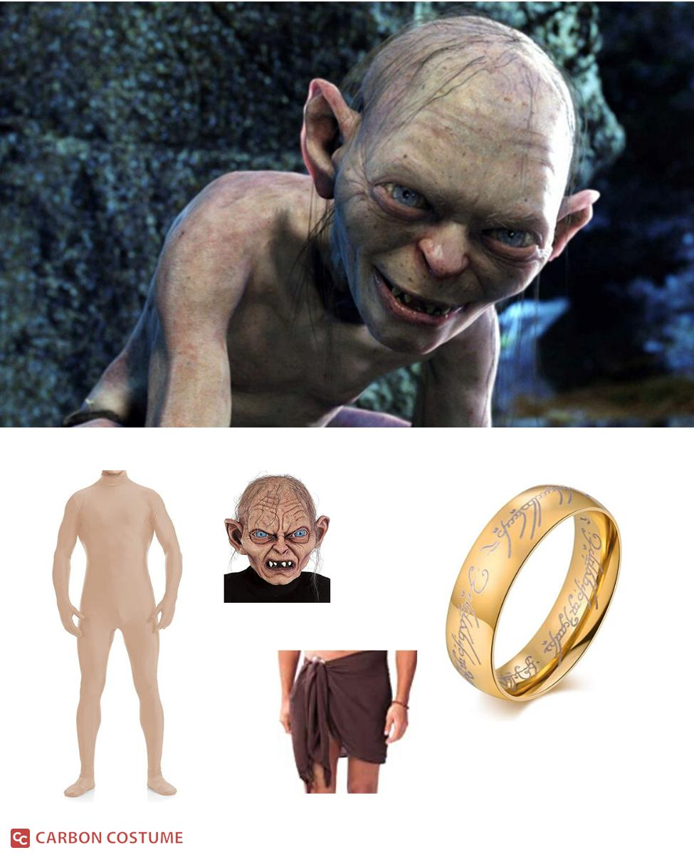 Gollum from Lord of the Rings Cosplay Guide