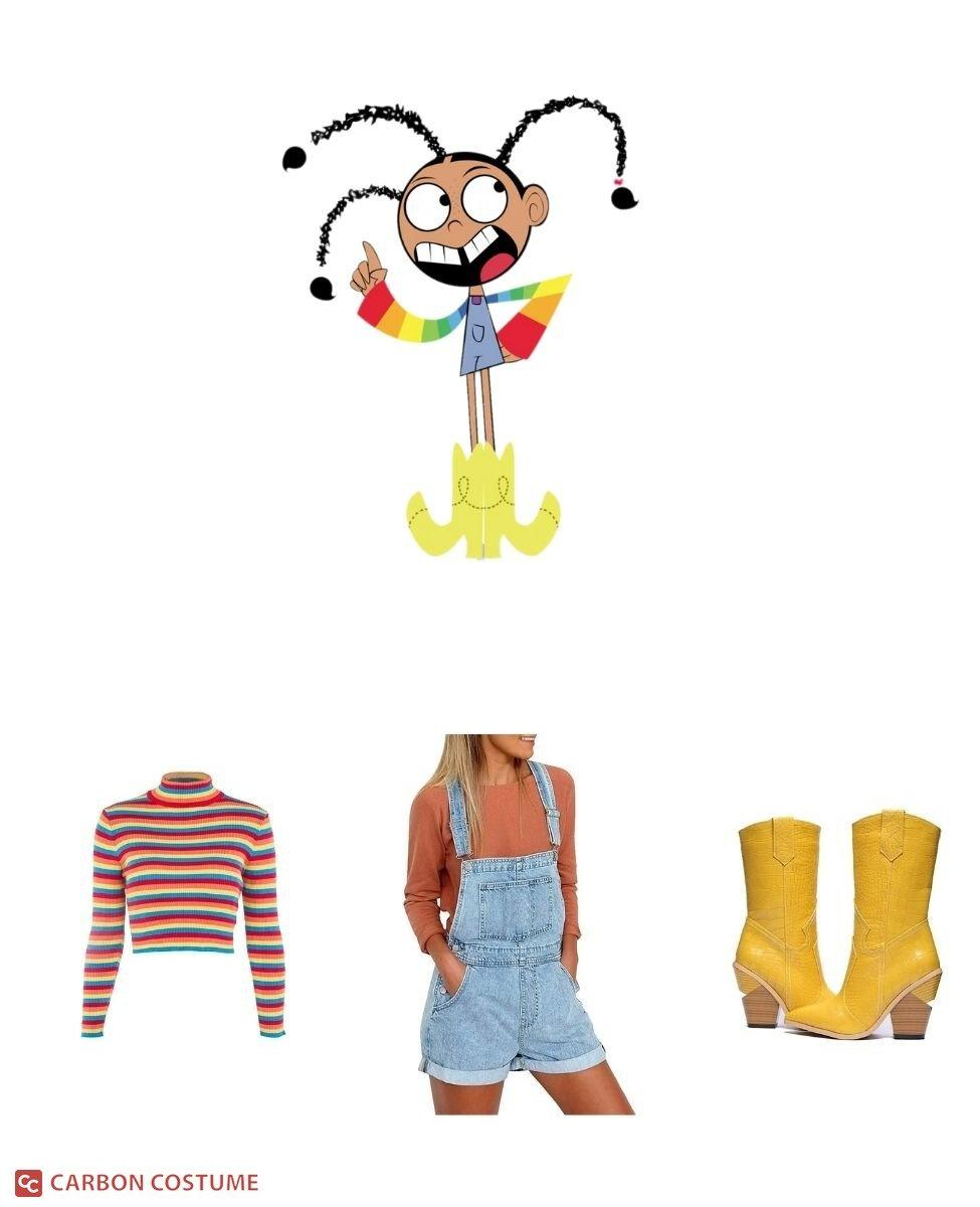 Goo from Foster's Home For Imaginary Friends Cosplay Guide