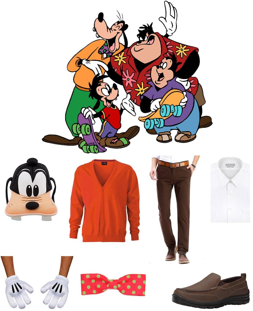 Goofy from Goof Troop Cosplay Guide