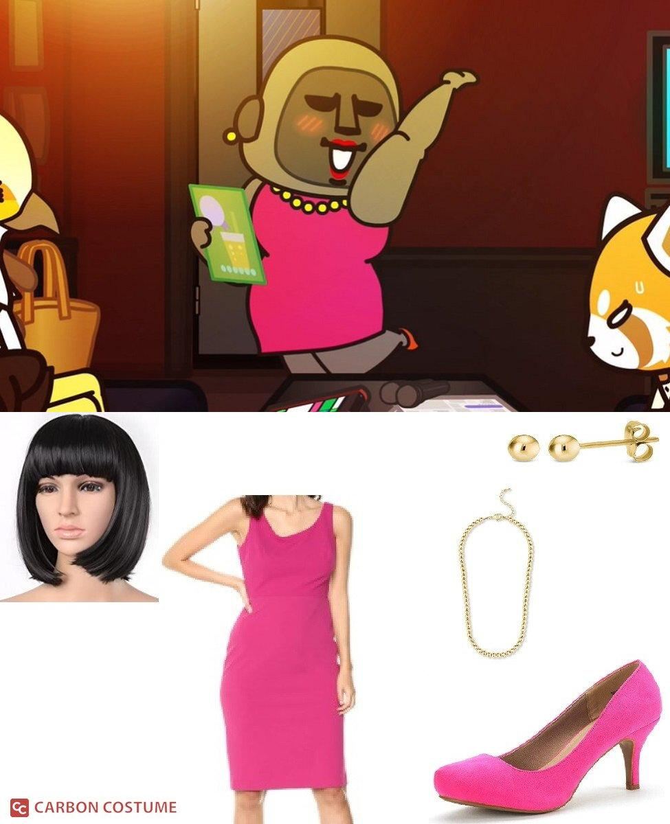 Gori from Aggretsuko Cosplay Guide