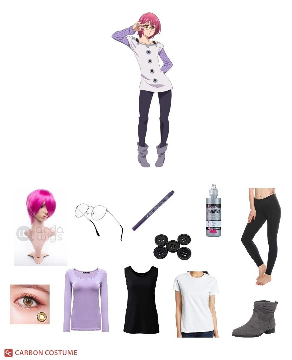 Gowther from Seven Deadly Sins Cosplay Guide