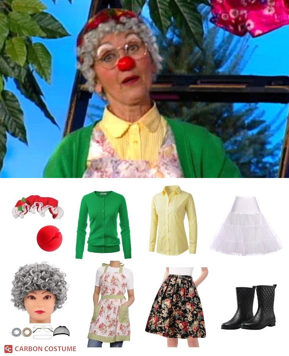 Granny Garbanzo from The Big Comfy Couch Cosplay Guide