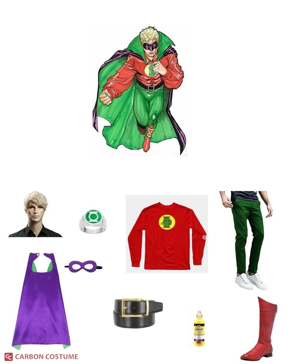 Green Lantern (Alan Scott) Cosplay Guide