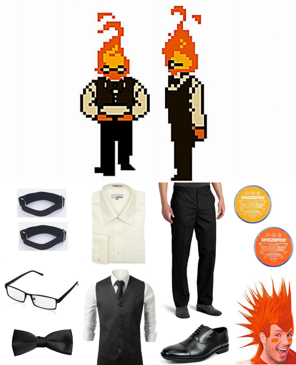 Grillby Cosplay Guide