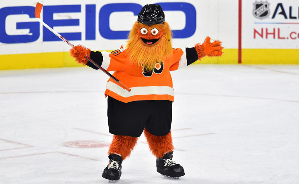 Gritty on Ice