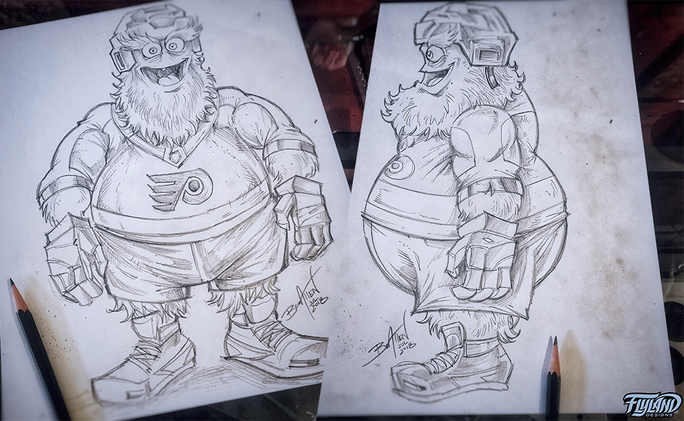 Gritty Sketches