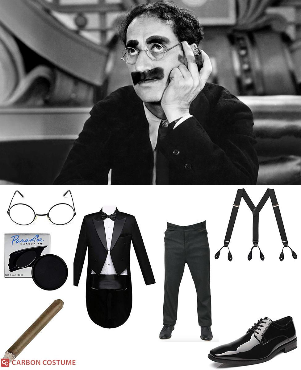 Groucho Marx Cosplay Guide