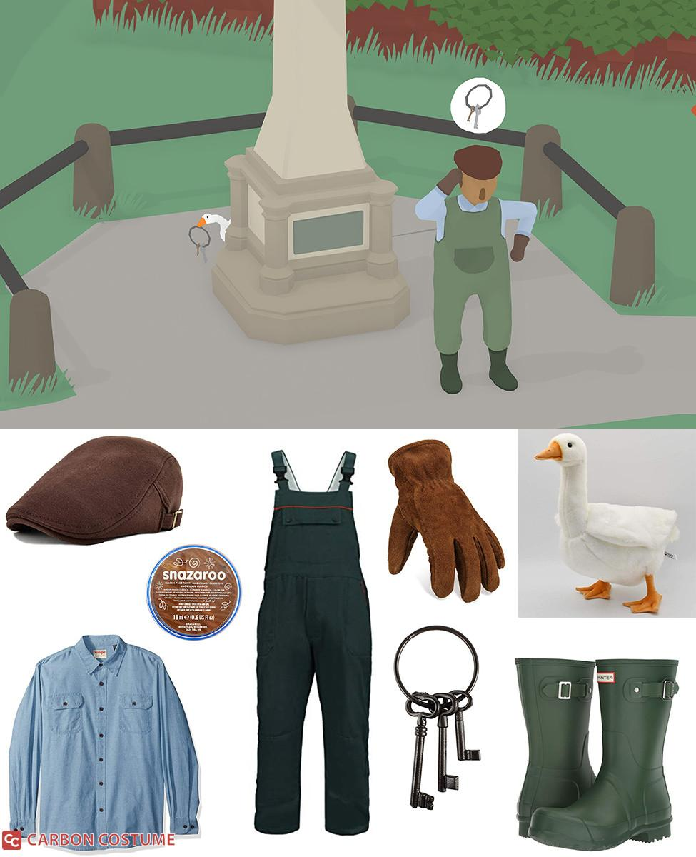 Groundskeeper from Untitled Goose Game Cosplay Guide