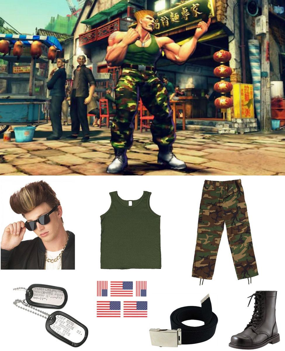 Guile Cosplay Guide