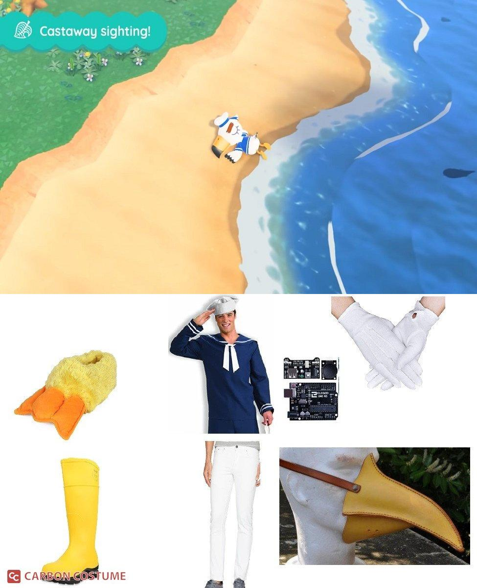 Gulliver from Animal Crossing: New Horizons Cosplay Guide