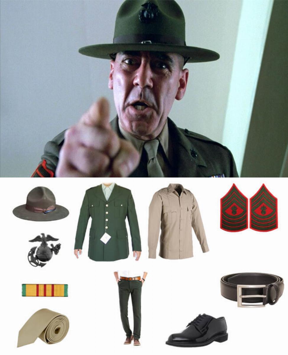 Gunnery Sergeant Hartman in Full Metal Jacket Cosplay Guide