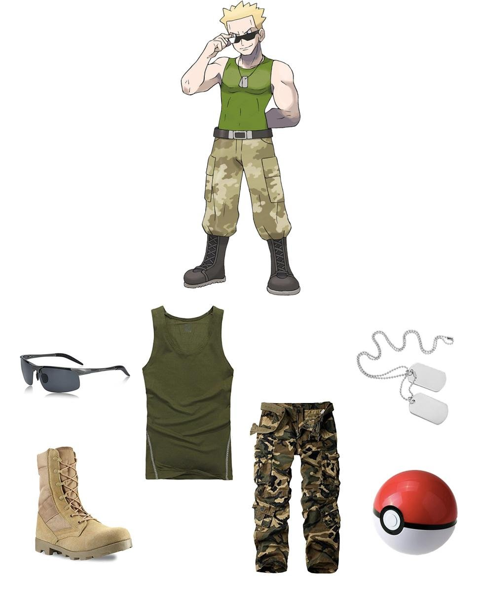 Gym Leader Lieutenant Surge Cosplay Guide