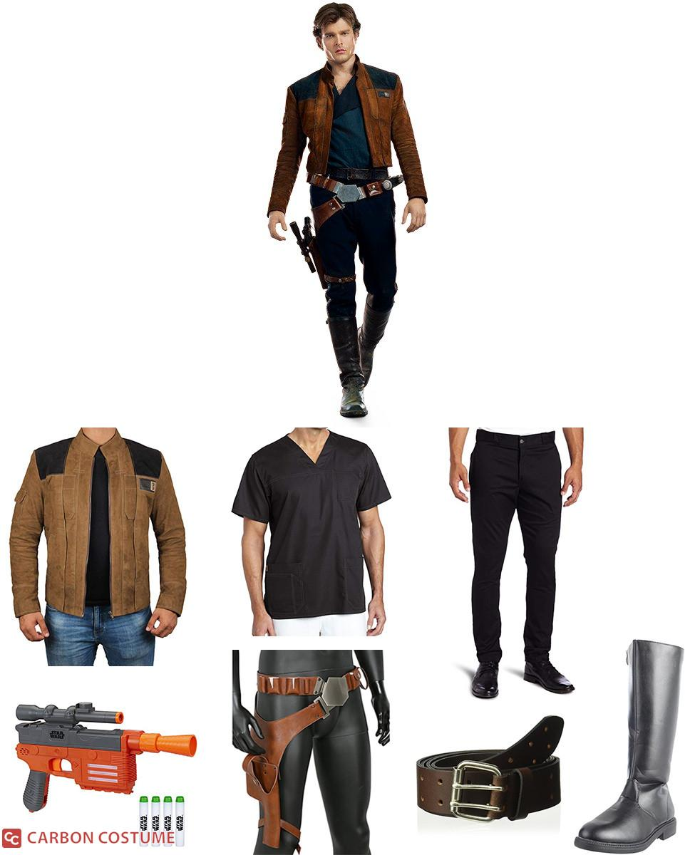Han Solo from Solo: A Star Wars Story Cosplay Guide