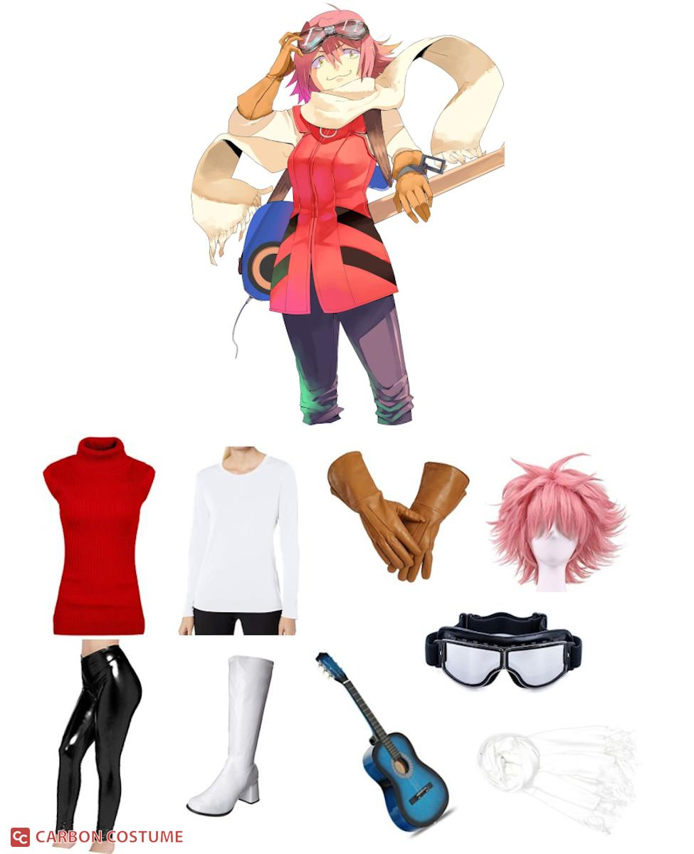 Haruko Haruhara from FLCL Cosplay Guide