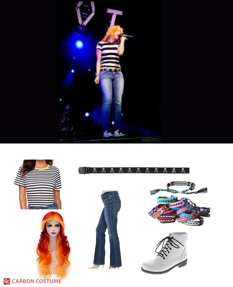 Hayley Williams of Paramore at The Final Riot Concert Cosplay Guide
