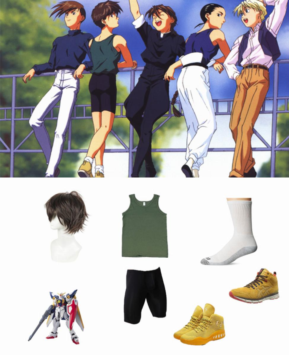 Heero Yuy from Mobile Suit Gundam Wing Cosplay Guide