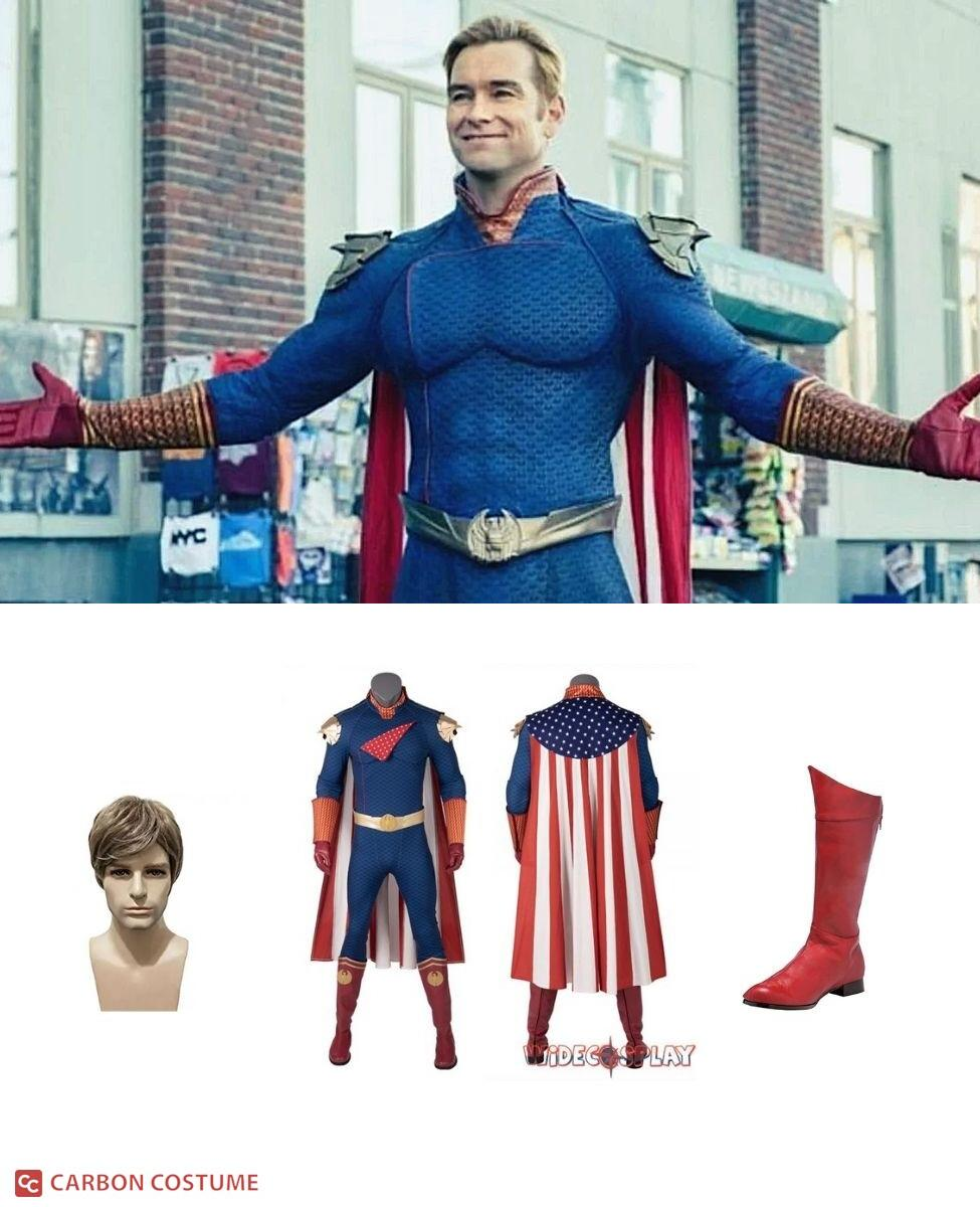 Homelander from The Boys Cosplay Guide