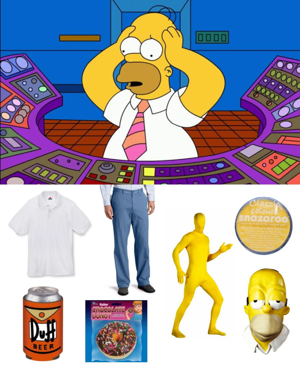 Homer Simpson Cosplay Guide