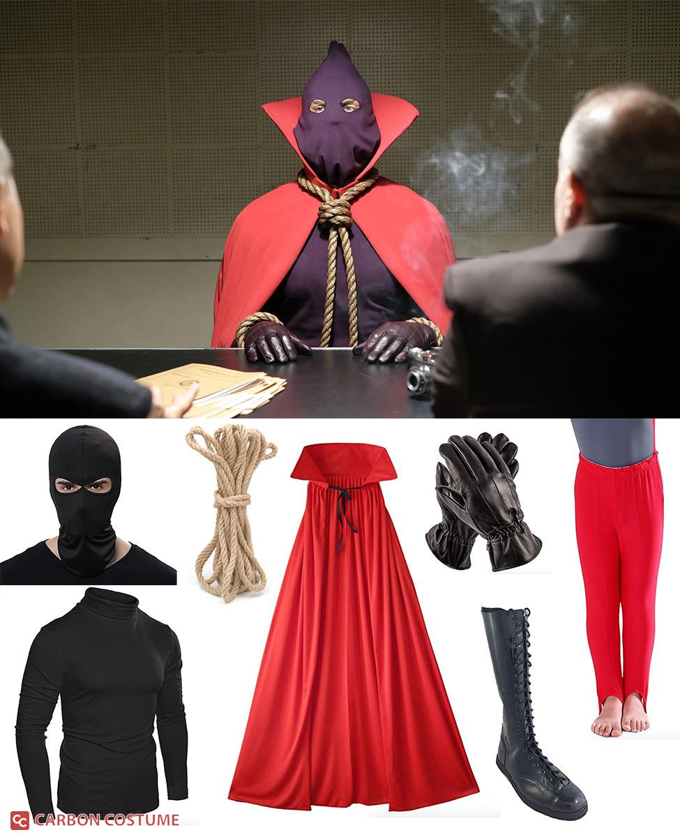 Hooded Justice from Watchmen Cosplay Guide