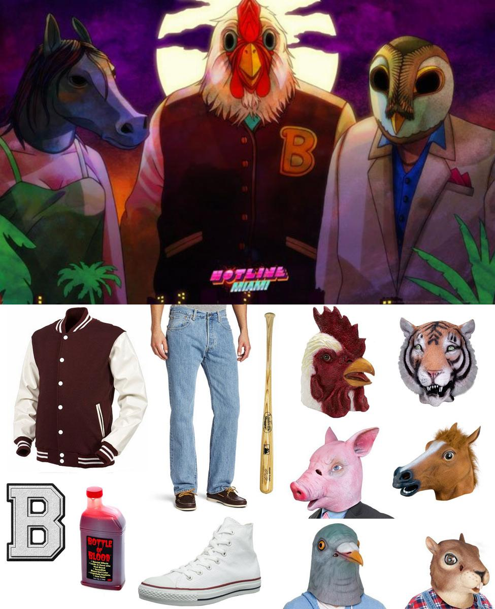 Hotline Miami Jacket Cosplay Guide