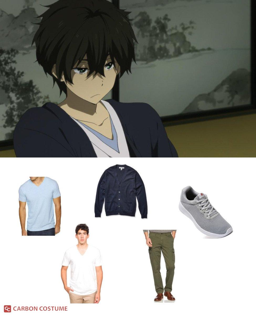 Houtarou from Hyouka Cosplay Guide