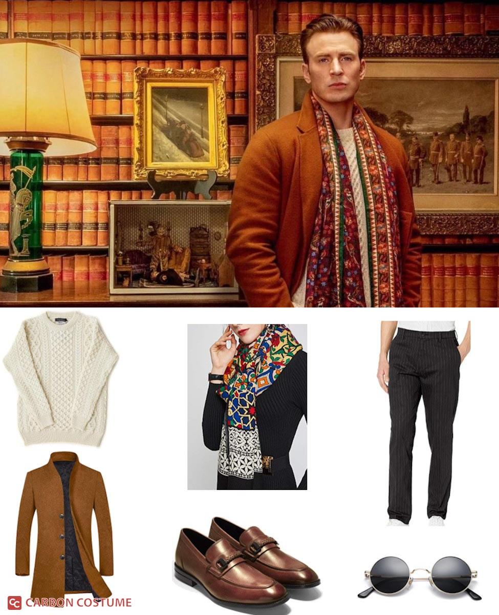 """Hugh """"Ransom"""" Drysdale from Knives Out Cosplay Guide"""