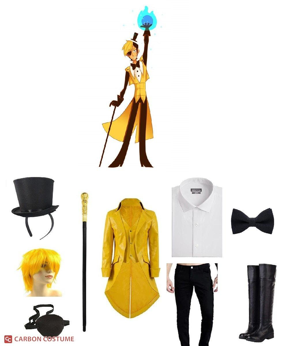 Human Bill Cipher from Gravity Falls Cosplay Guide