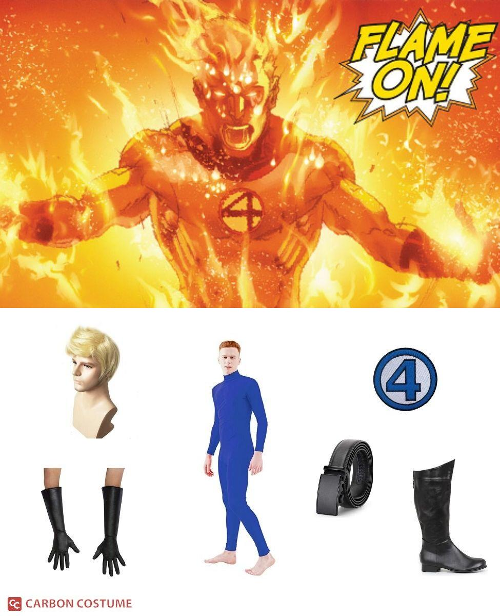 Human Torch Cosplay Guide