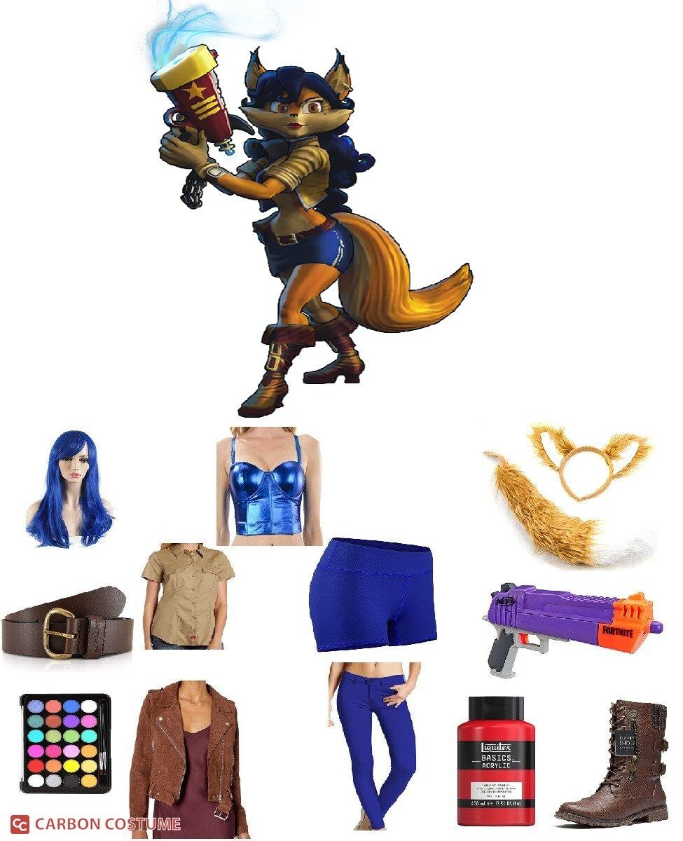 Inspector Carmelita Montoya Fox from Sly Cooper Cosplay Guide