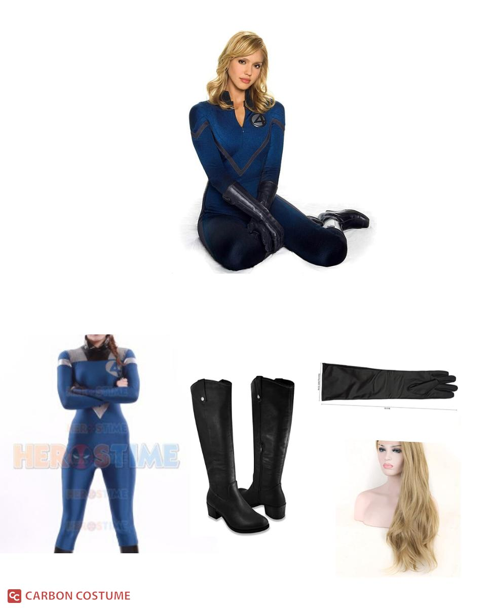 Invisible Woman from The Fantastic Four Cosplay Guide