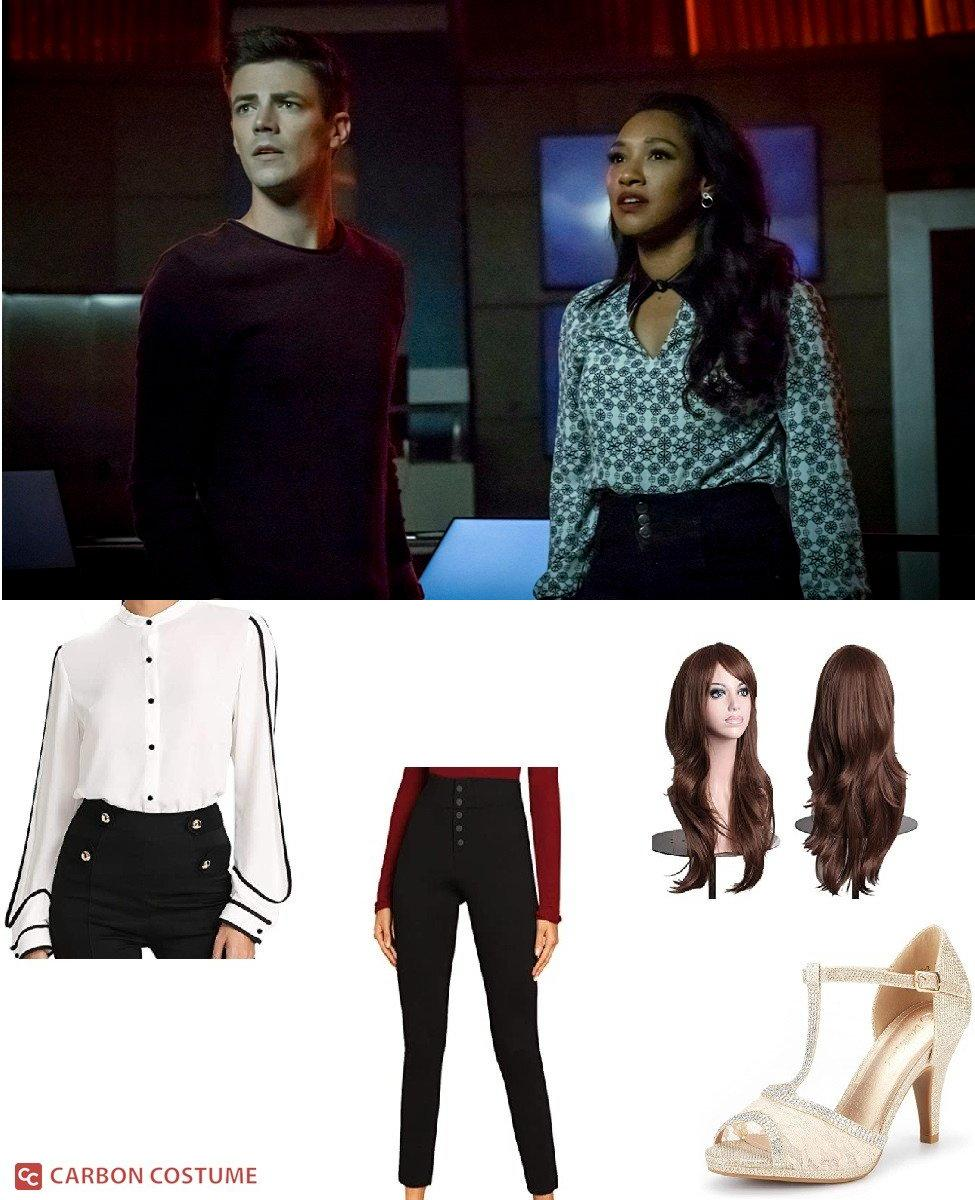 Iris West-Allen from The Flash Cosplay Guide