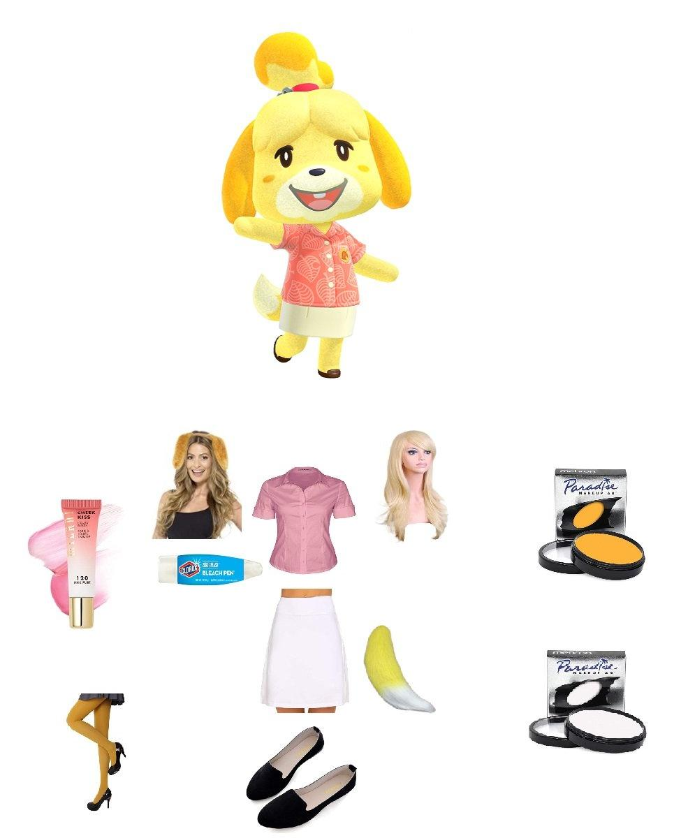 Isabelle from Animal Crossing: New Horizons Cosplay Guide