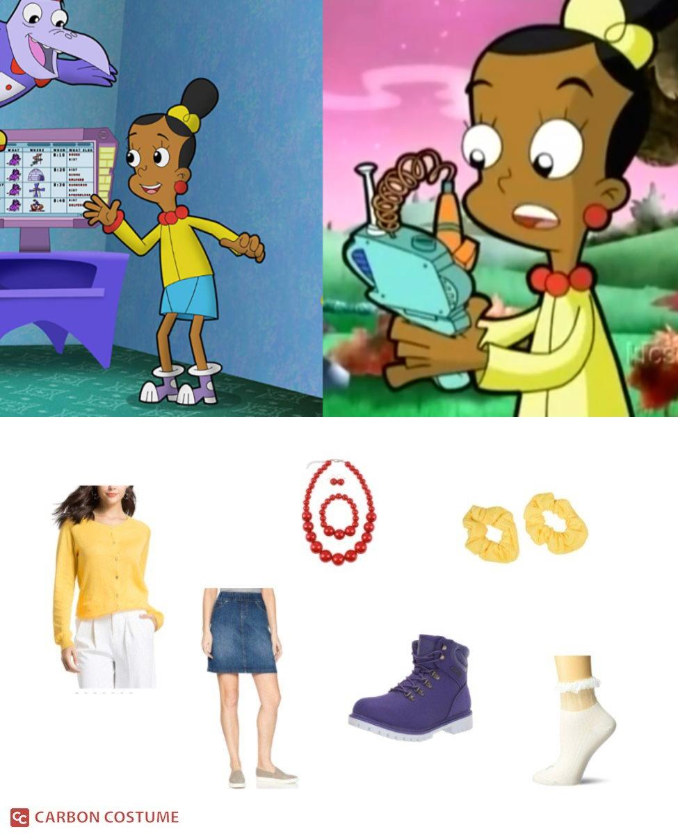 Jackie from Cyberchase Cosplay Guide