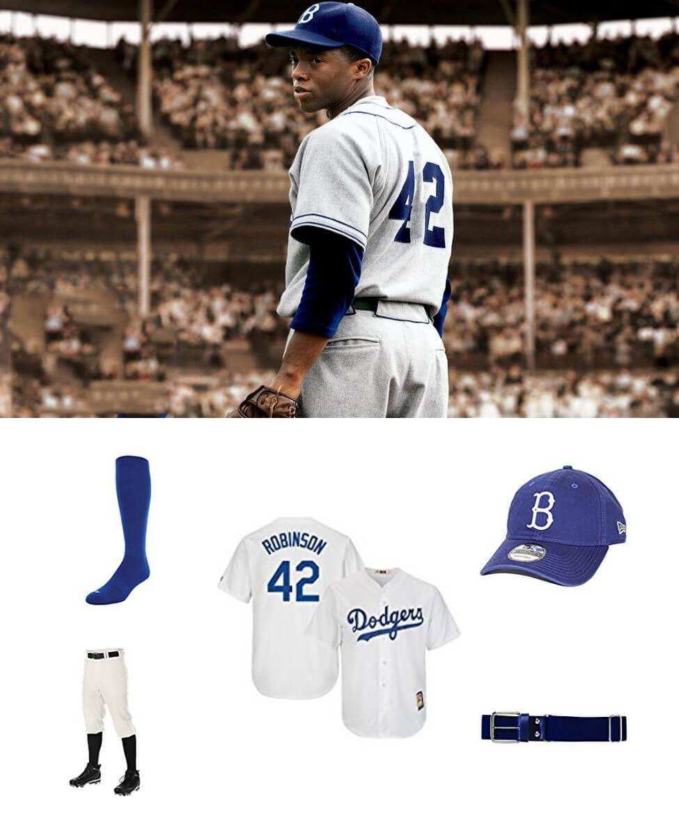 Jackie Robinson in 42 Cosplay Guide