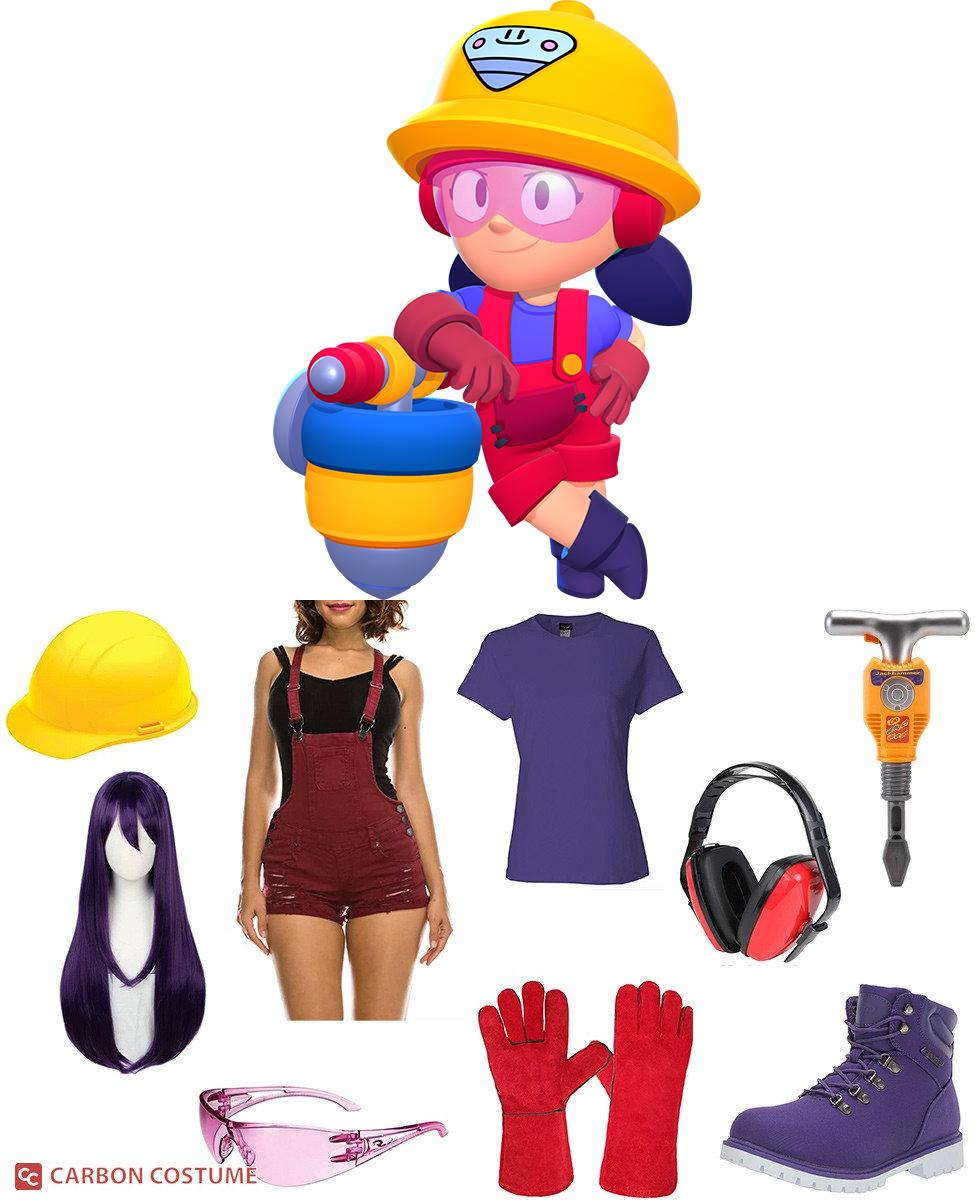 Jacky from Brawl Stars Cosplay Guide