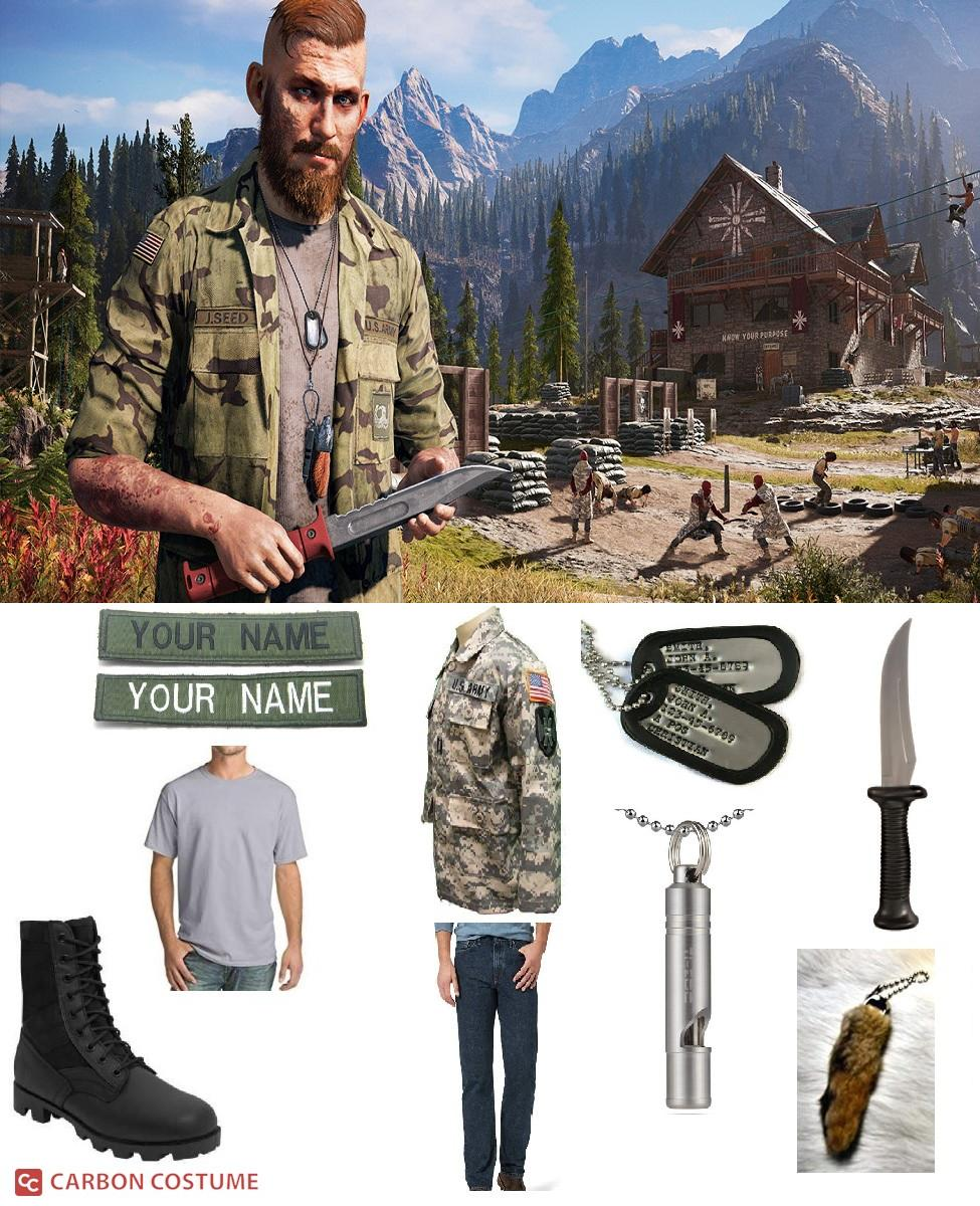 Jacob Seed from Far Cry 5 Cosplay Guide