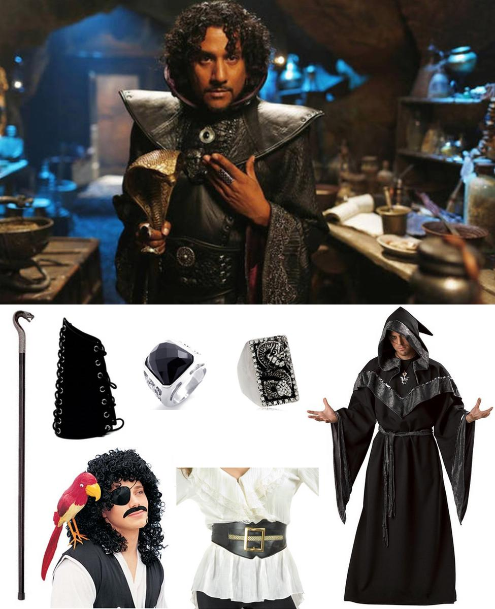 Jafar from Once Upon a Time in Wonderland Cosplay Guide