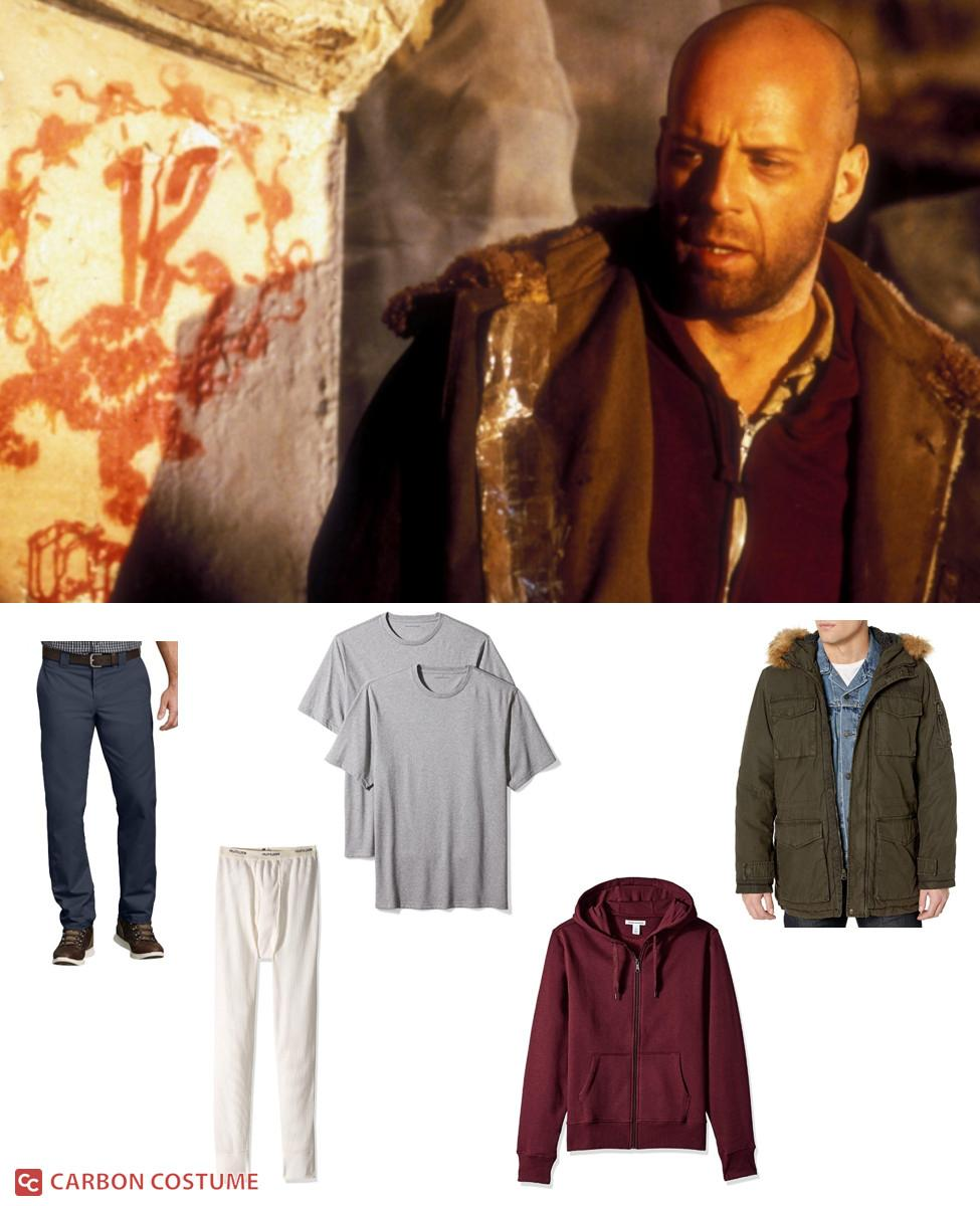 James Cole from 12 Monkeys Cosplay Guide
