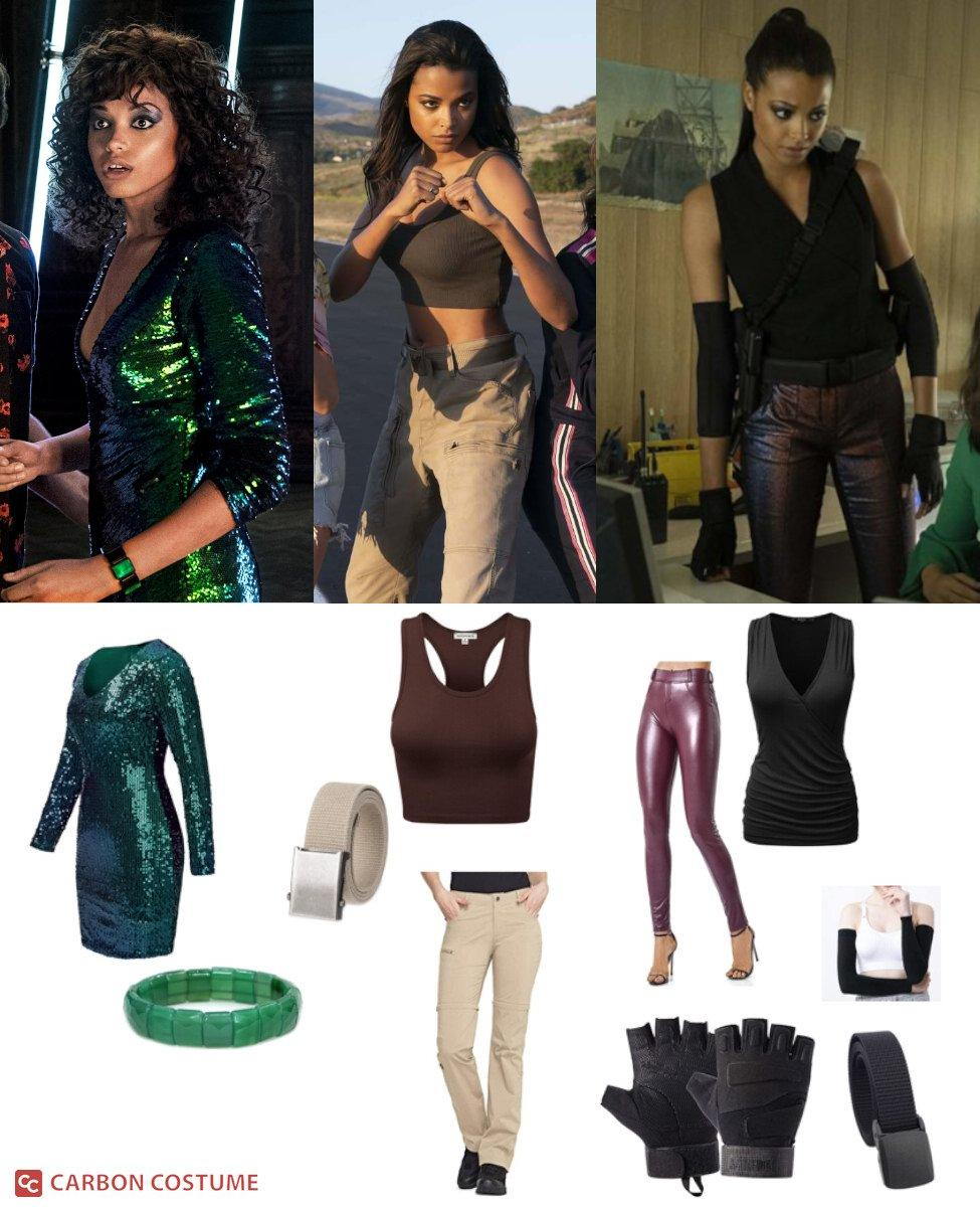 Jane Kano from Charlie's Angels (2019) Cosplay Guide